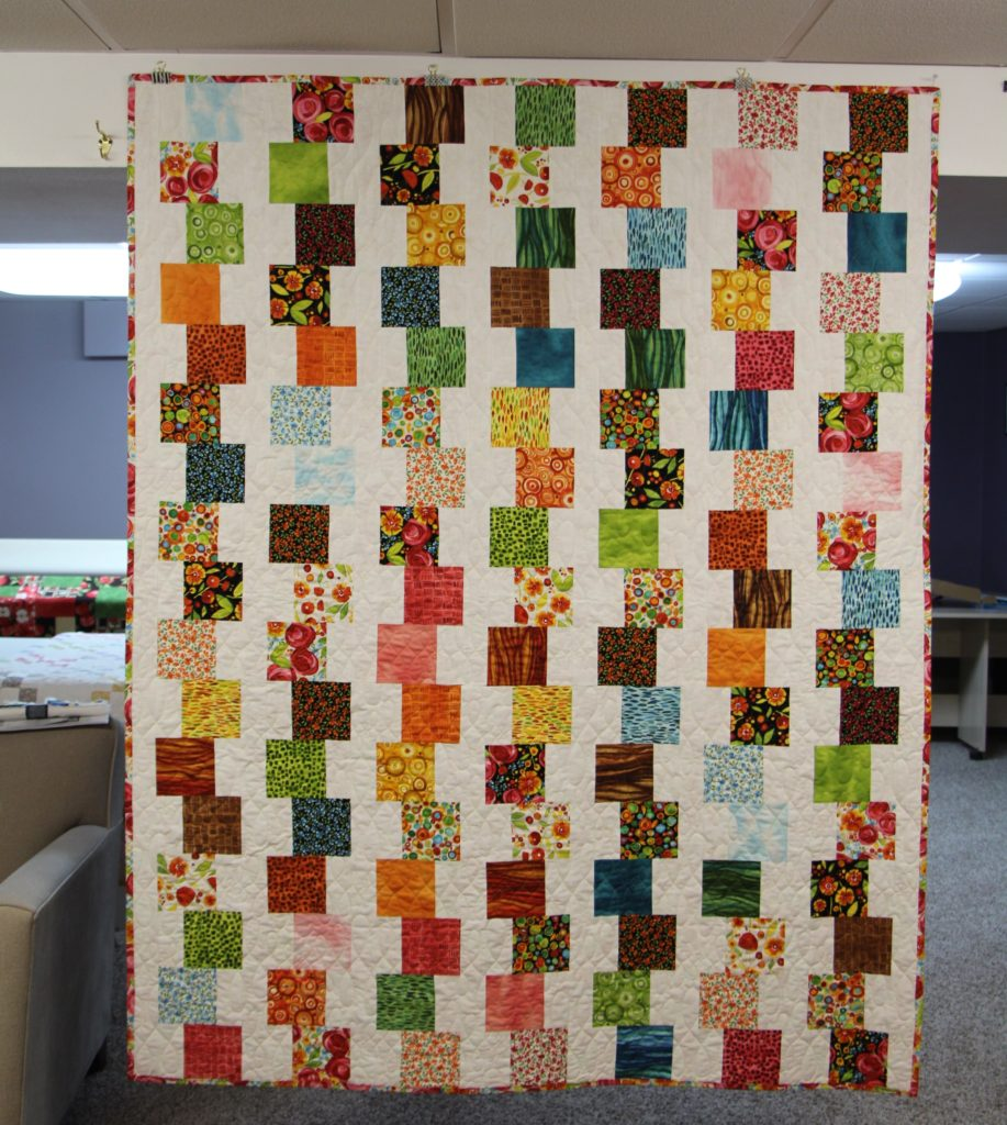 Wild By Nature, a quilt by Melissa | Longarm Quilting